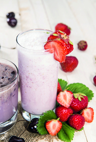 smoothie fraise minceur forever lite ultra