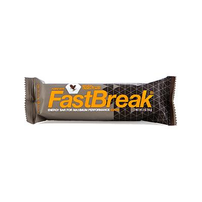 produits Forever pour améliorer la performance sportive - collation fastbreak