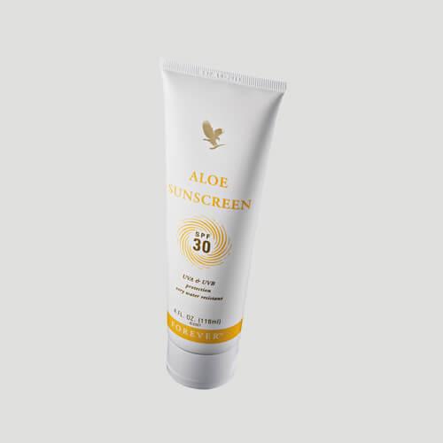 Forever Aloe Sunscreen crème solaire SPF30 - Soins du corps