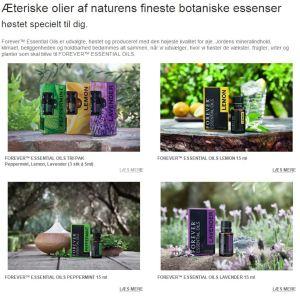 Æteriske olier fra Forever Living Products