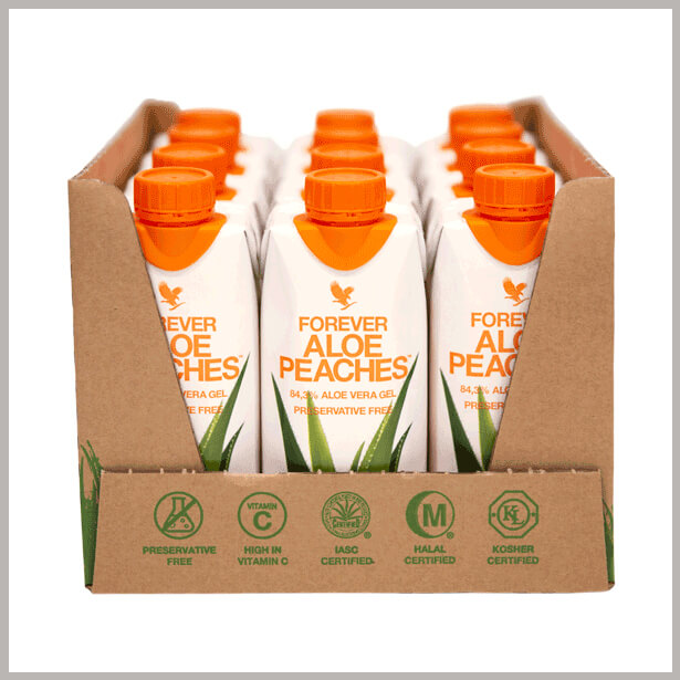 Aloe Peaches 330