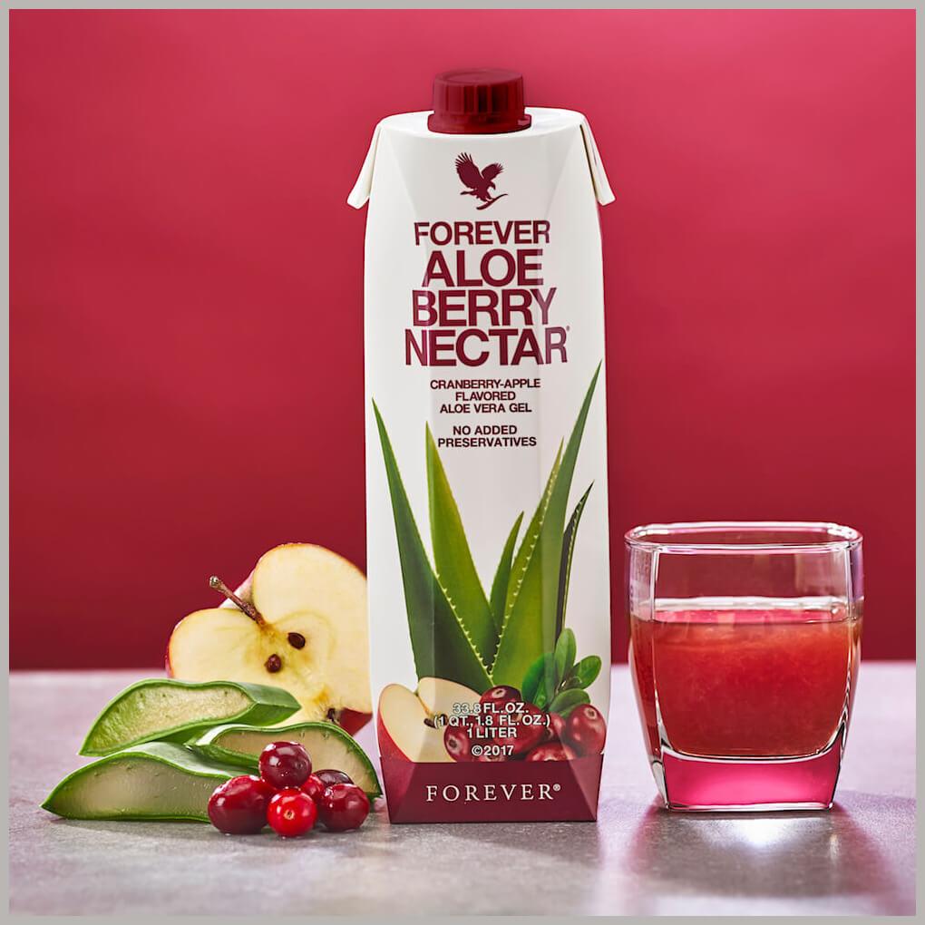 Forever Aloe Berry Nectar i dekoracija