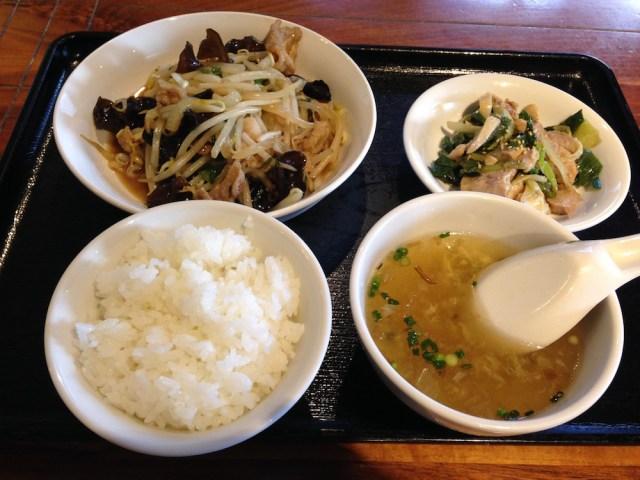 神楽坂ランチ(膳楽房)料理