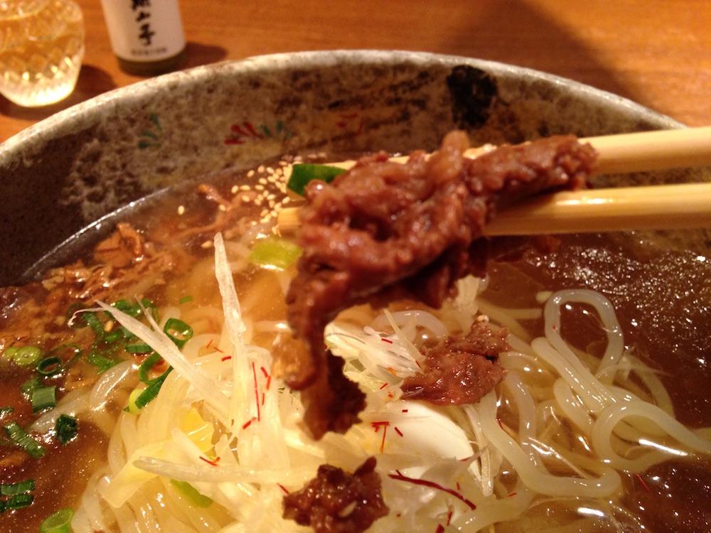 神楽坂ランチ(神楽坂 翔山亭)冷麺3
