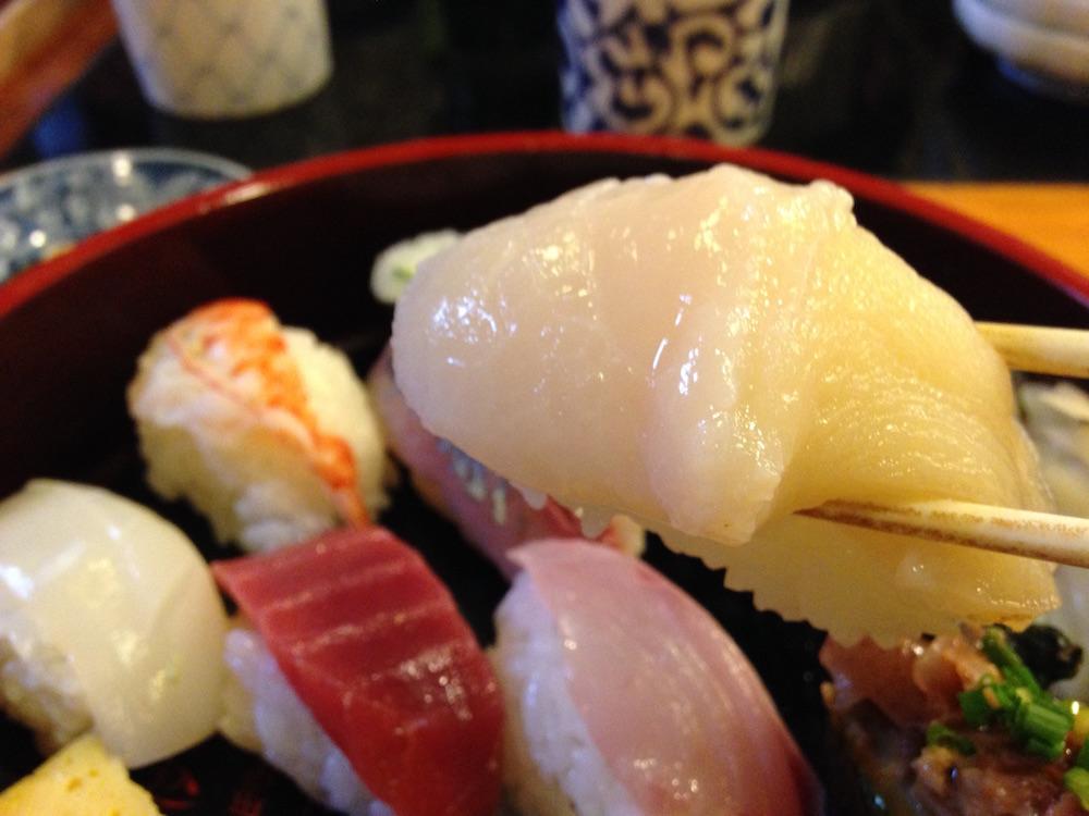 神楽坂ランチ(かぐら坂新富寿司)寿司