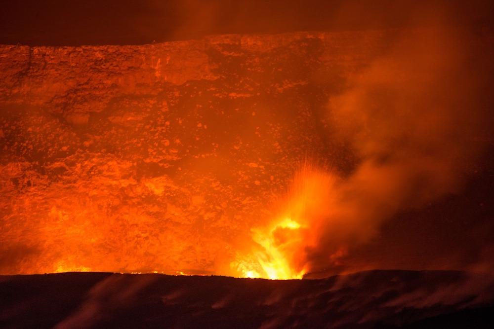 ハワイ火山(キラウエア)