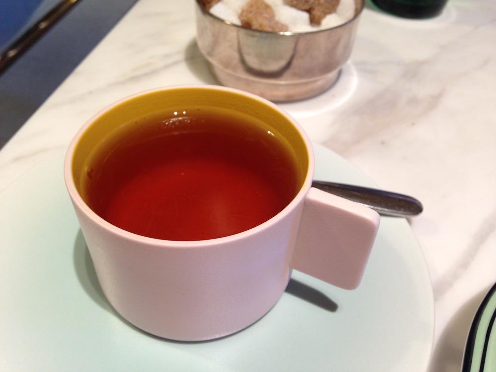 東京のアフタヌーンティー(銀座ビルズ・紅茶)