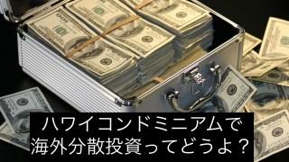 ハワイコンドミニアムで海外分散投資