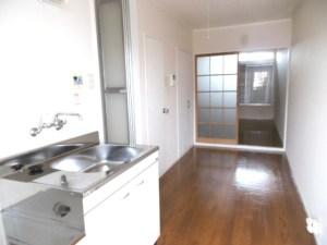 4畳のキッチン