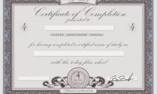 4DayFilm School Certificate 01