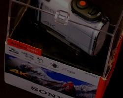 Sony 4K Action Cam FDR-X1000V Unboxing