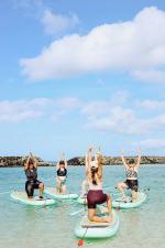 Island Paddle Bliss – SUP Yoga
