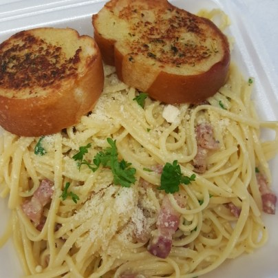 Carbonara made to order