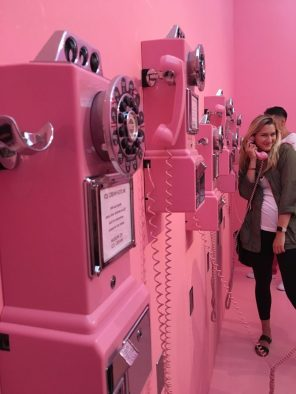 museum of ice cream pink phones