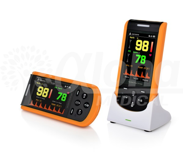 SP-20 Handheld Pulse Oximeter with Alarms