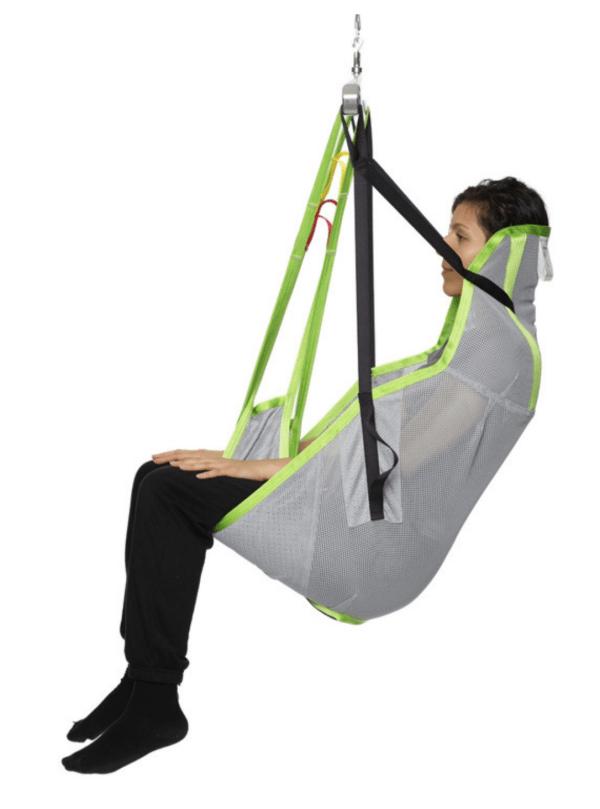 Alohamedical_Full body sling_net_lateral
