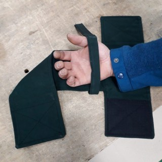 T-Velcro palm accessory