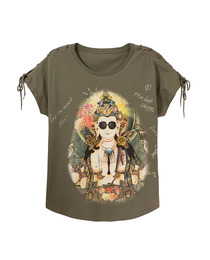 camiseta oriental