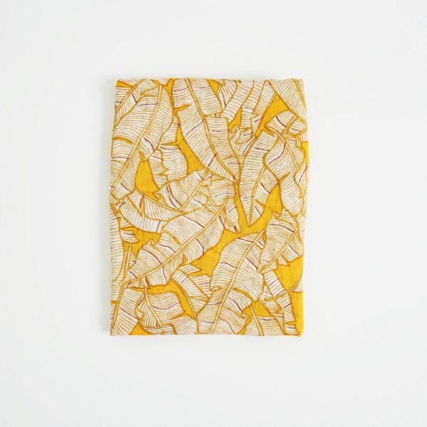 pañuelo hojas mostaza