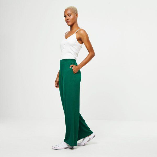 pantalón largo viscosa surkana ancho
