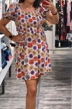 vestido corto verano lowcost floral