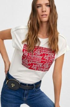 Camiseta logomanía Lola Casademunt