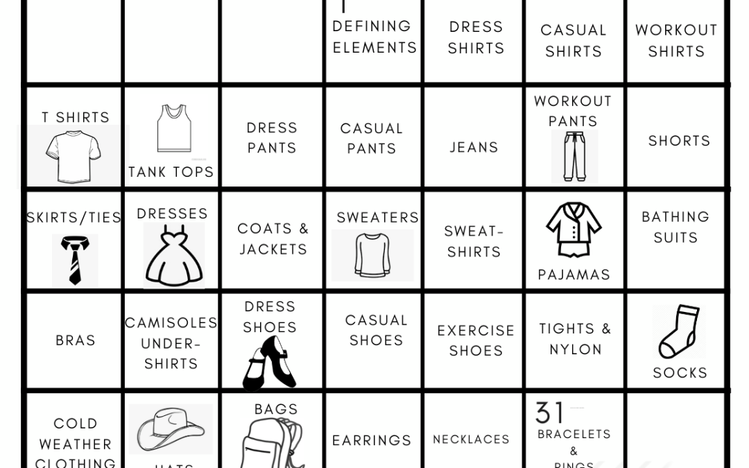 "January 2020 ""Rock Your Closet"" Challenge"