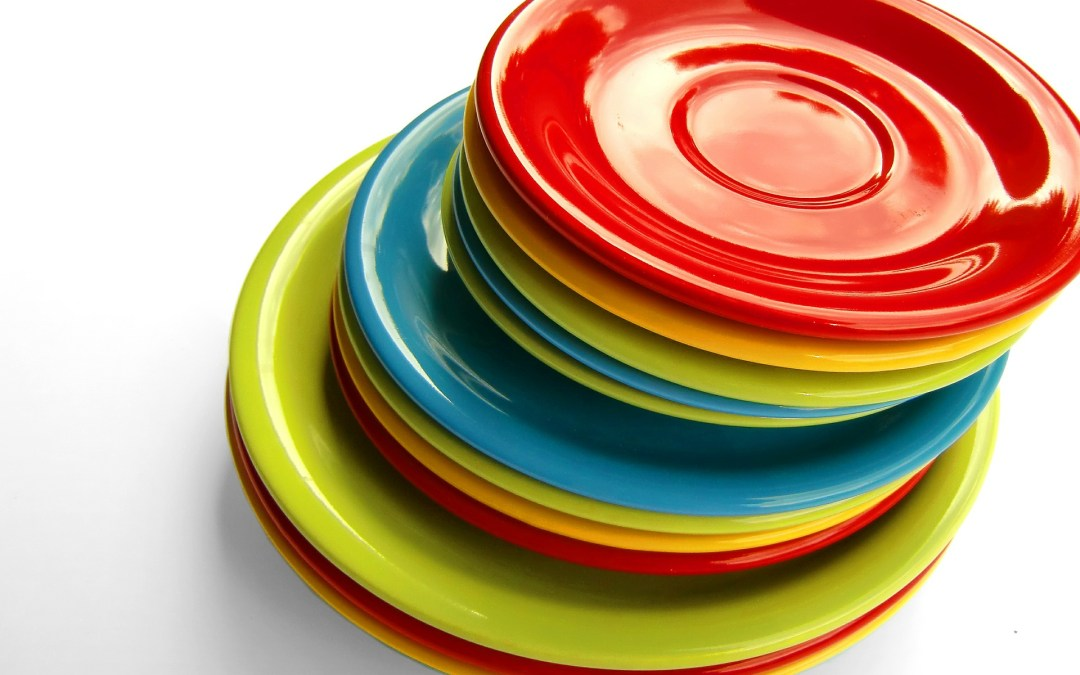 Tidy-in-Place Challenge APRIL 28: Dishes, Silverware, and Glassware