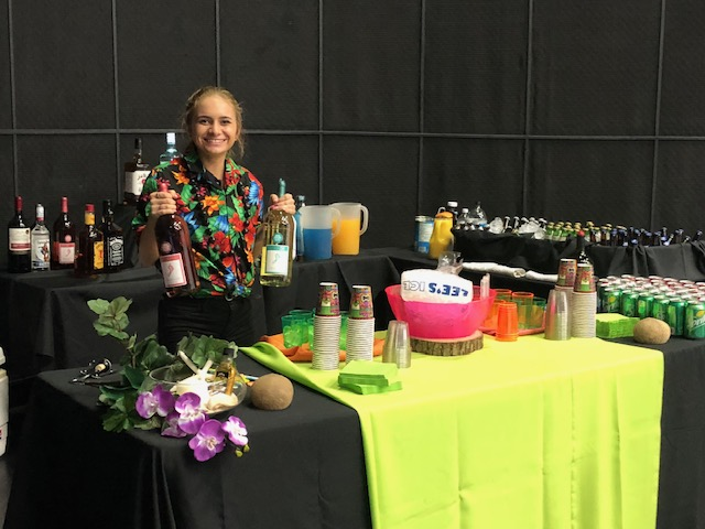 hawaiian party luau food drink catering orlando florida