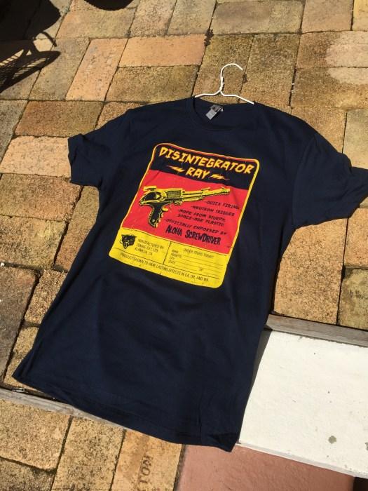 Disintegrator Ray shirt