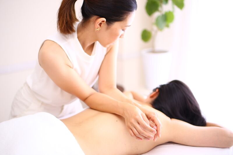 massage technic for therapist