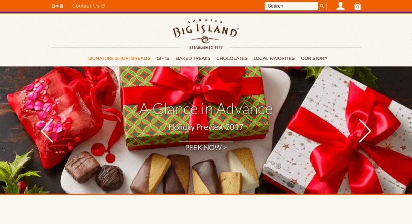 ビックアイランド・キャンディーズのショートブレッド・クッキー