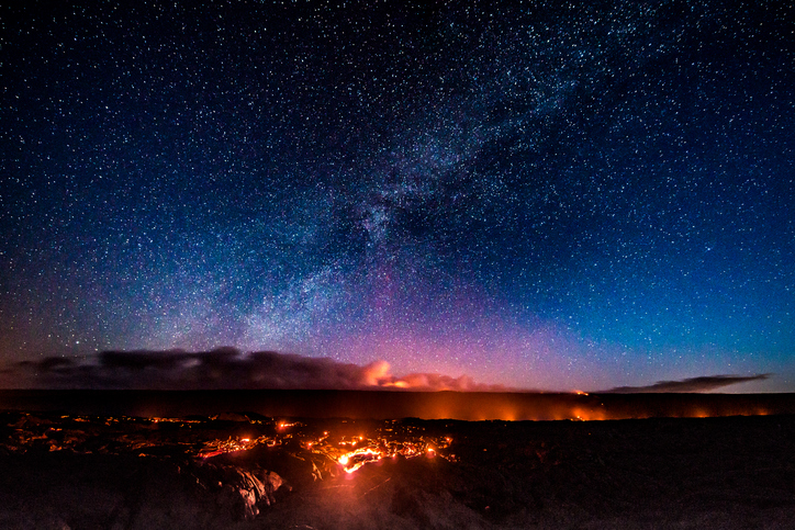 First light at Hawaii Volcanoes National Park