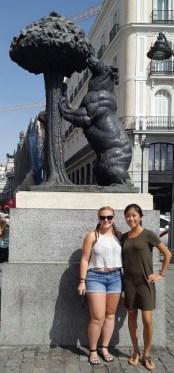 Madrid: The drunk bear statue