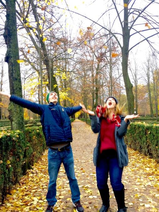 Aranjuez: Free-falling for fall