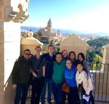 Segovia: El Alcazár (152 steps later)
