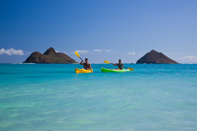 Lanikai Beach is considered to be one of the world's most prettiest beaches.