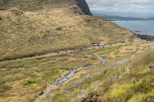 Makapuu Lighthouse Trail: Parking. Hawaii travel. Things to do in Oahu. Things to do in Hawaii.