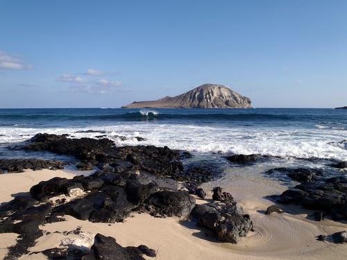 Makapuu Lighthouse Trail: Baby Makapuu. Hawaii travel. Things to do in Oahu. Things to do in Hawaii.