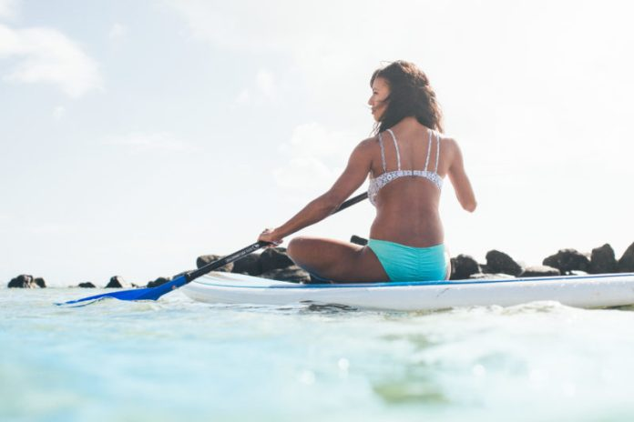 SUP in Hawaii is a great way to sightsee Hawaii.