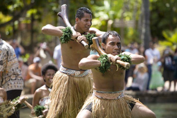 Polynesian Cultural Center Fiji dancing.