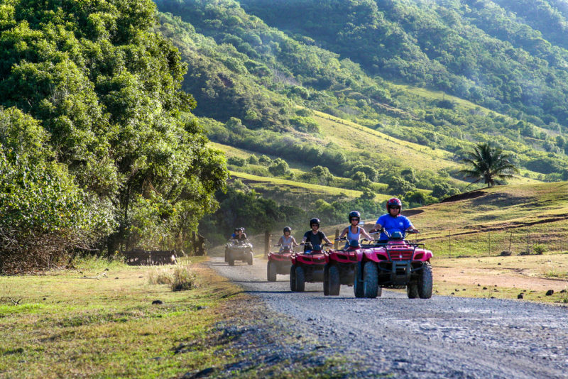 150 Things To Do On Oahu - go on an ATV movie tour.