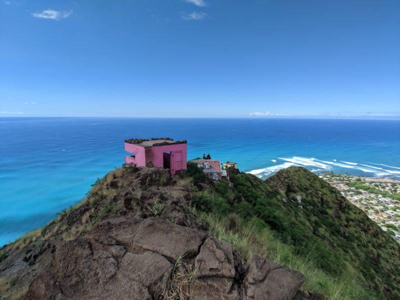 Maili Pink Pillbox Hike