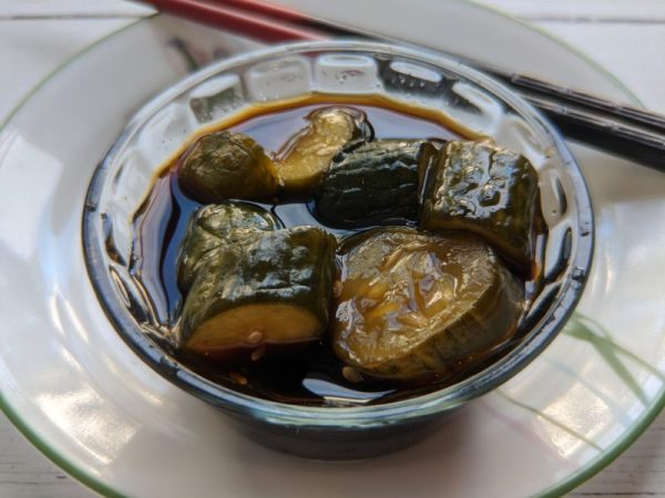 Pickled Cucumbers With Sichuan Peppers