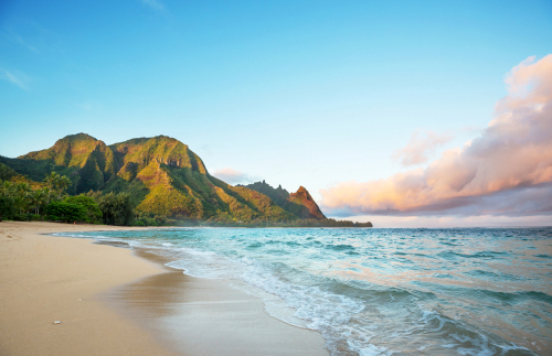 Best beaches in Hawaii: Tunnels Beach. Hawaii travel. Things to do in Kauai. Things to do in Hawaii.