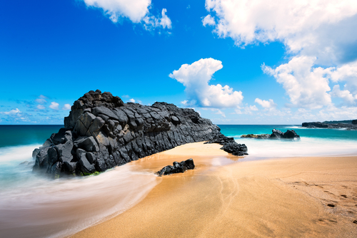 Best beaches in Hawaii: Kauapea Beach (Secret Beach). Hawaii travel. Things to do in Kauai. Things to do in Hawaii.