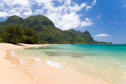 Haena Beach in Kauai.