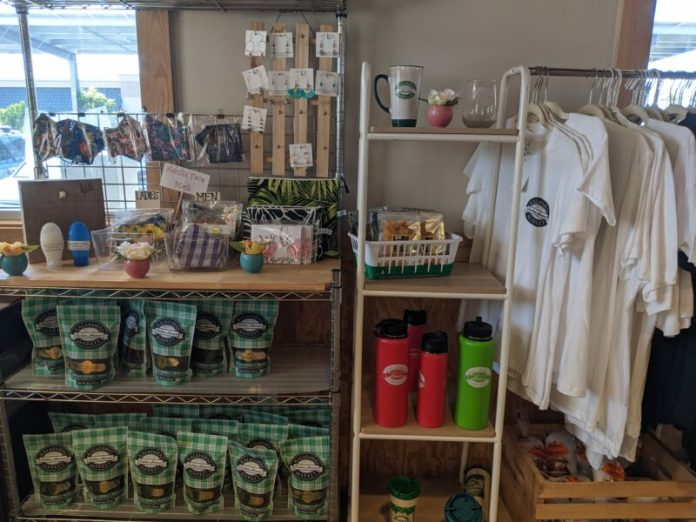 You can purchase some neat gifts here, many of them made in Hawaii.