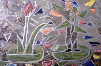 Pam Chadick Aloisa. Stain Glass Flowers