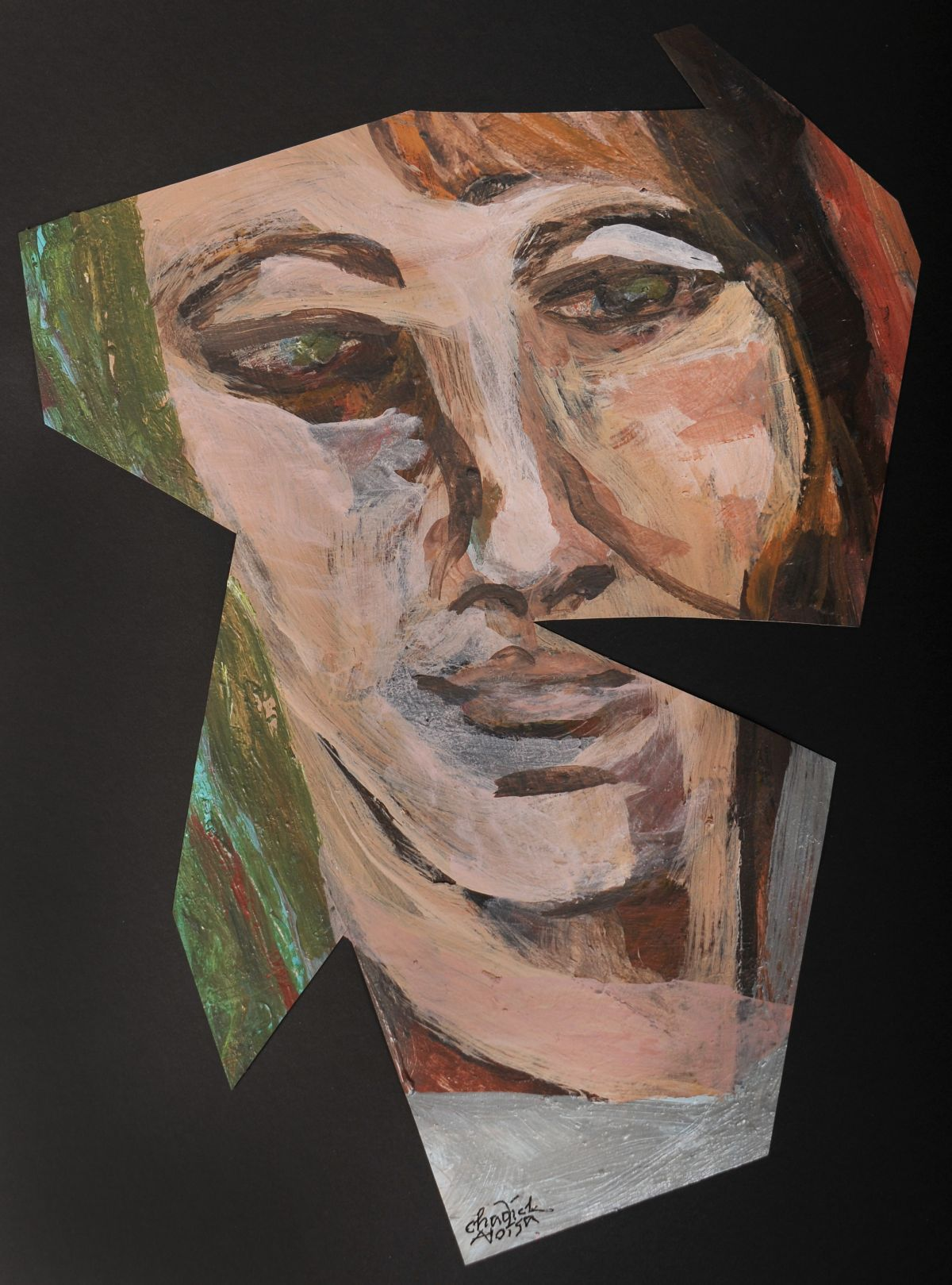 Pam Chadick Aloisa. Stripped Face